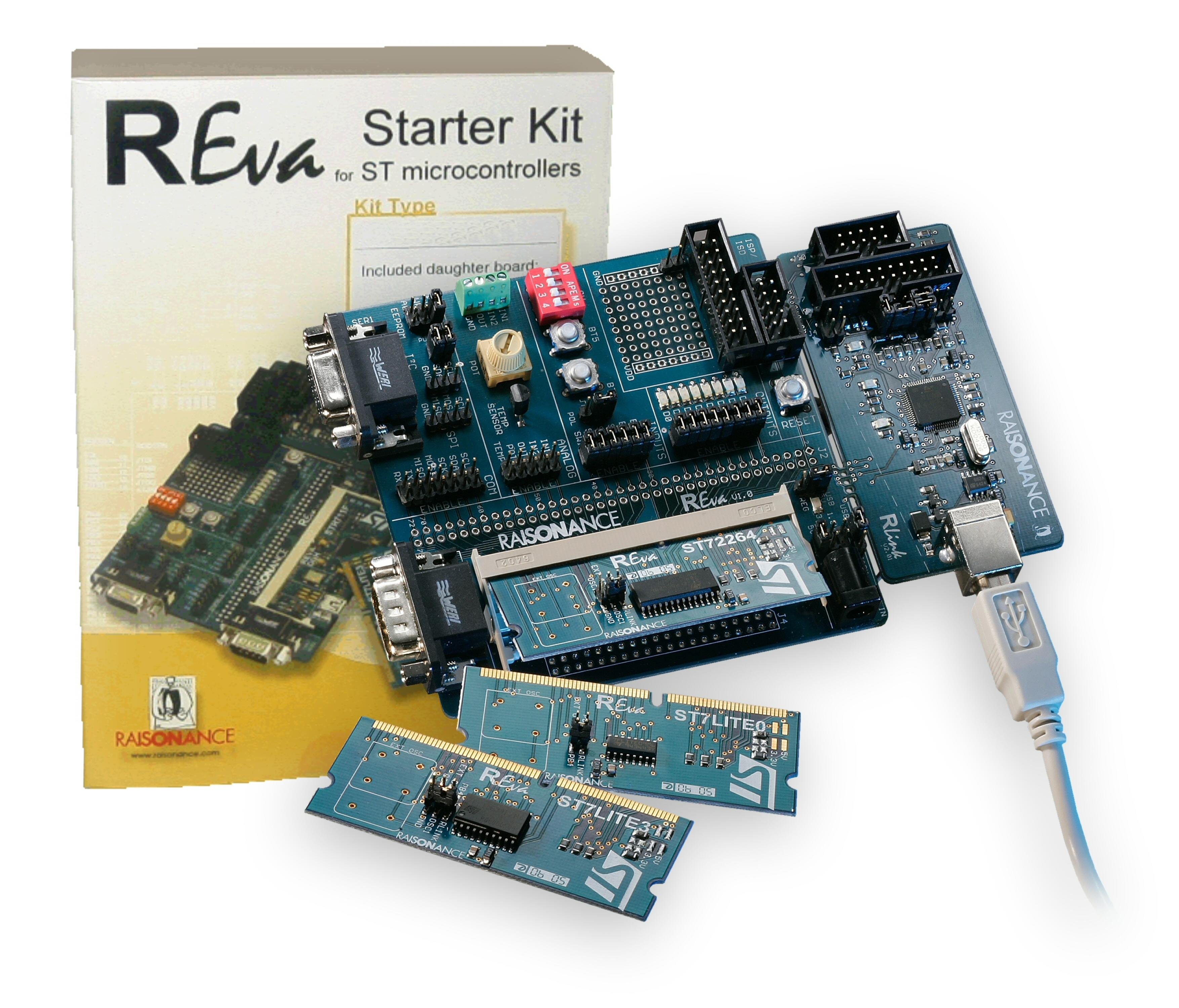Full-Featured, Low-Cost Development Kit for STMicroelectronics